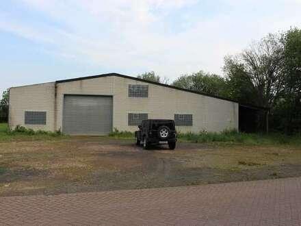 Lager- u. Produktionshalle mit Baugrundstück