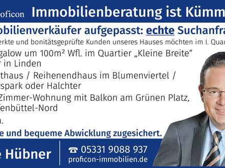 Eigentumswohnung in Wolfenbüttel gesucht