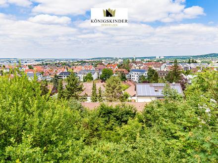 Bauplatz/Grundstück 2.400 m² in 1A Lage von Böblingen mit zwei Baufenstern für 2 Doppelhaushälften