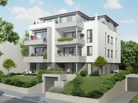 Neubau-Erstbezug! 102 qm Komfortwohnung mit sonnigem Balkon in City-Ost