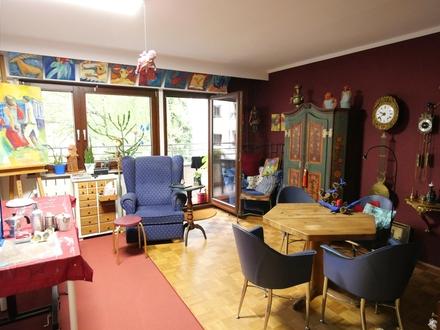 Wohnen im Komponistenviertel + Balkon + Blick ins Grüne