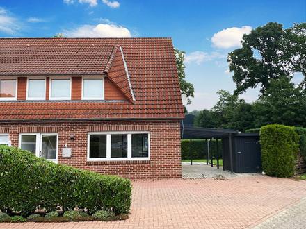 Frisch renoviert - Doppelhaushälfte mit Garten in Lahn wartet auf neue Mieter!