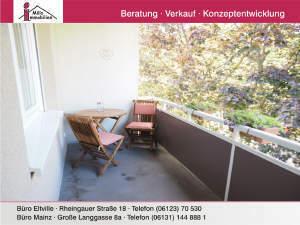 Perfekt geschnittene Wohnung mit Süd-West-Balkon