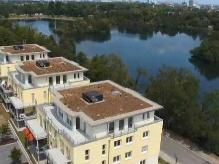 Repräsentative Penthousewohnung mit traumhaftem Blick auf den Blies-See - Bezugsfertig!