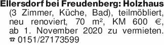 Ellersdorf bei Freudenberg: Ho...