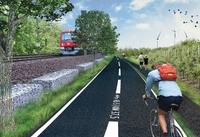 Pendler - Radschnellweg im Kreis Pinneberg
