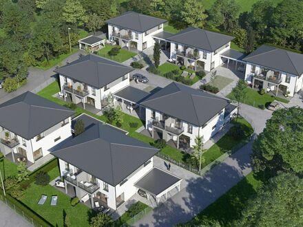 Exklusive Doppelhaushälften (ca.101m2) mit Garten, Keller und Balkon in Palting