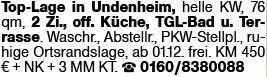 2-Zimmer Mietwohnung in Undenheim (55278)