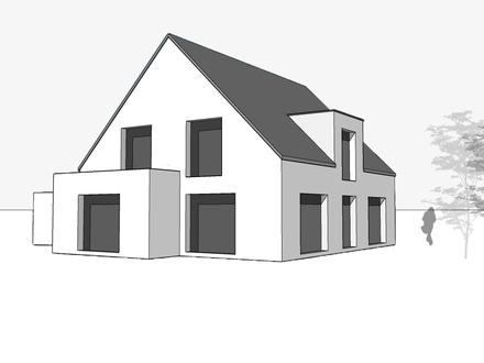 Neubau eines Einfamilienhauses mit Doppelgarage in Lotte-Wersen