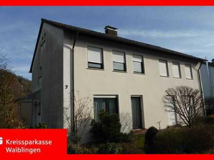 Doppelhaushälfte in schöner und ruhiger Wohnlage!