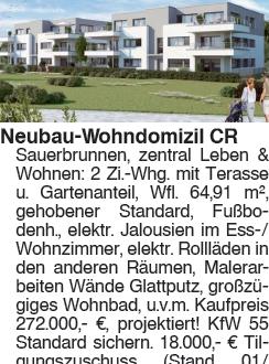 2 Zi. Whg. CR Sauerbrunnen