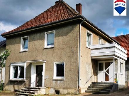Zweifamilienhaus mit Garage und Lagerhalle in Löhne ab 199.000 Euro Bieterverfahren