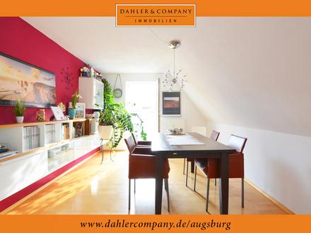 Freundliche 3-Zimmer-Dachgeschosswohnung in der Friedberger Altstadt