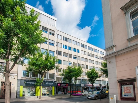 Klagenfurt - Innenstadt: Büro-/Kanzleiräumlichkeiten mit gut strukturierter Raumaufteilung