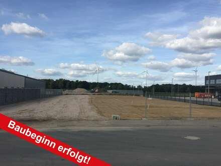 Neubau Gewerbehallen zu vermieten
