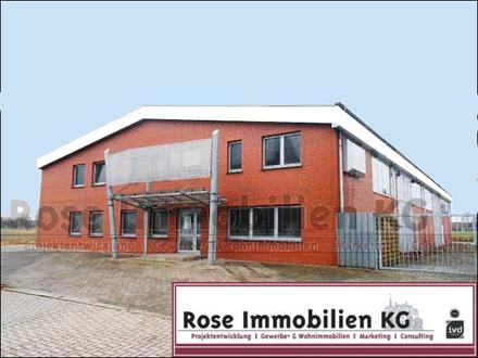 ROSE IMMOBILIEN KG: Top Gewerbeobjekt für verschiedenste Gewerke mit Büro und Betriebswohnung