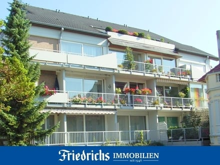 Modernisiert in 2015! 2-Etagen-Eigent.-Wohnung, 3 Loggien, TG-Stellplatz in Bad Zwischenahn-Zentrum