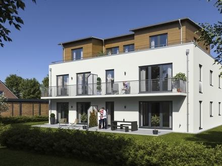 Neubau eines Mehrfamilienhauses: 3-Zimmer-Erdgeschosswohnung
