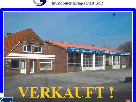 Werkstatt-/Lagerhalle mit Büro/Laden in Westerstede - Halsbek