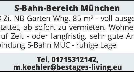S-Bahn-Bereich München