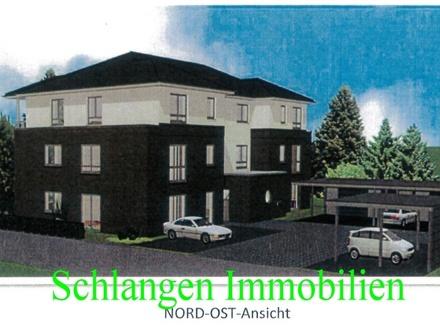 Objekt Nr: 00/650 NEUBAU - Etagenwohnung mit Balkon und Carport in der Hansestadt Friesoythe