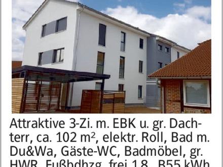 3-Zimmer Mietwohnung in Wolfsburg (38448) 102m²