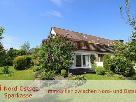 Gepflegtes Reihenendhaus mit gr. Garten u. Dachterrasse im wunderschönen Herzen Flensburgs!