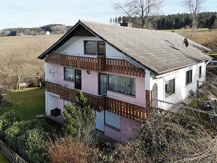 Bad Waldsee - Haisterkirch – Großes Einfamilienhaus mit ELW in toller Aussichtslage…
