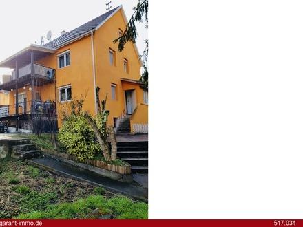 Zweifamilienhaus mit Baugrundstück für Kapitalanleger und Bauträger gut geeignet!!!