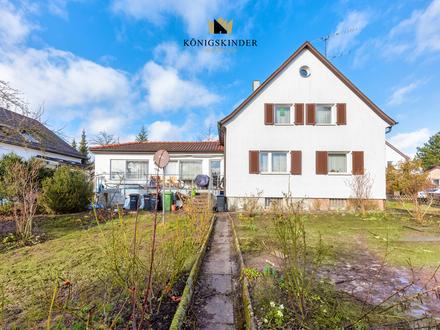 Traumgrundstück inklusive: großes Einfamilienhaus in Zentrumsnähe in Böblingen zu verkaufen