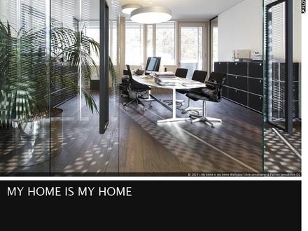 AIGEN   Penthouse-Büro mit Designausstattung + Dachterrasse