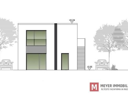 Moderne Eigentumswohnung im Bauhausstil zentral in Rastede **KFW 55** (Obj.-Nr. 6002)