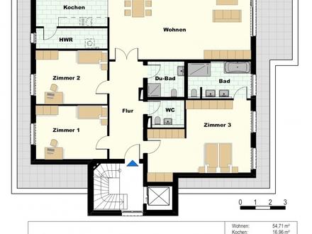 *** NEU - Exklusives Neubau - Penthaus - ca. 218 m² Wohnfläche inkl. ca. 80 m² Dachterrasse ***