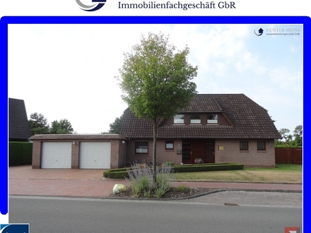 gepfl. Einfamilienhaus mit Praxisräumen in Westerstede - Ocholt