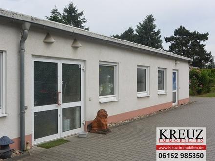 Autobahnnähe: Lager- bzw. Servicefläche mit Büroräumen in Groß-Gerau Nord