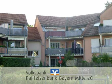Traumhafte Wohnung mit tollem West-Balkon und 2 TG-Stellplätzen !!