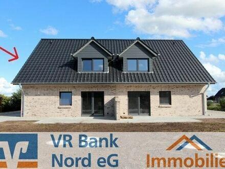 Neubau eines Doppelhauses in hochwertiger massiver Bauweise (KfW55-Standard)