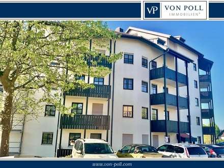 Leerstehende und großzügige 2-Zi.Wohnung mit Balkon in Passau-Grubweg