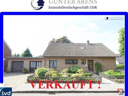 gepfl., ebenerdig ausgestattetes Wohnhaus mit Garage in Westerstede
