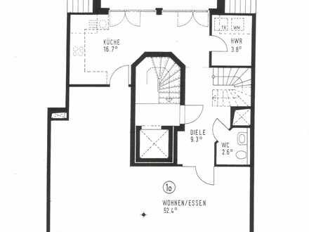 Maisonette-Wohnung in der Neustadt