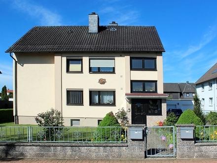 Völksen: modernisiertes 2-Familienhaus am Deister-Südhang