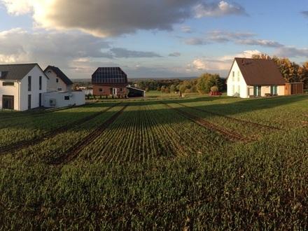 Grundstücksansicht nach Norden