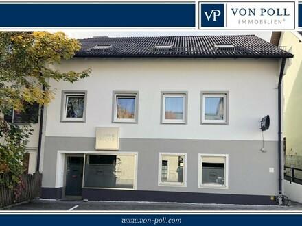 Drei + Eins = Ganz schön Viel !!! Gepflegtes 4-Familienhaus mit Gewerbe/Lokal!!!