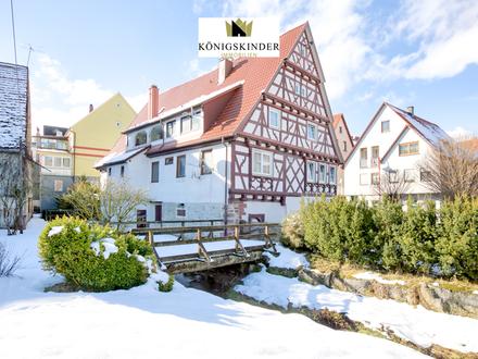 Interessantes Baugrundstück (rd. 2.000 qm) in Haiterbach Nähe Nagold im Landkreis Calw, teilbebaut