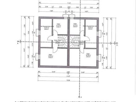 NEUBAU Doppelhaushälfte in Massivbauweise