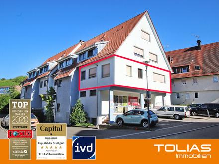 Ein Platz zum Wohlfühlen: 3,5-Zimmer-Wohnung mit Terrasse und Garage - Erstbezug nach Renovierung!