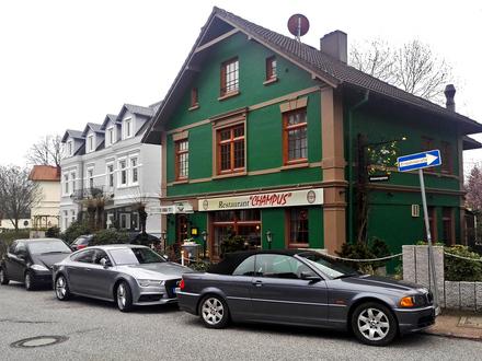Speisegaststätte mit Wohnung im Hamburger Elbvorort Groß Flottbek