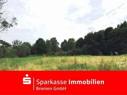 Attraktives bauträgerfreies Baugrundstück in Wesernähe in Farge