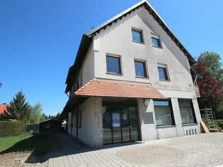 Ehemalige Bankfiliale bietet Büro/Praxis/-oder Kanzleiräumlichkeiten in Illertissen-Au
