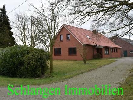 Objekt Nr: 00/649 Einfamilienhaus mit Garage in Alleinlage in Barßel / OT Barßelermoor